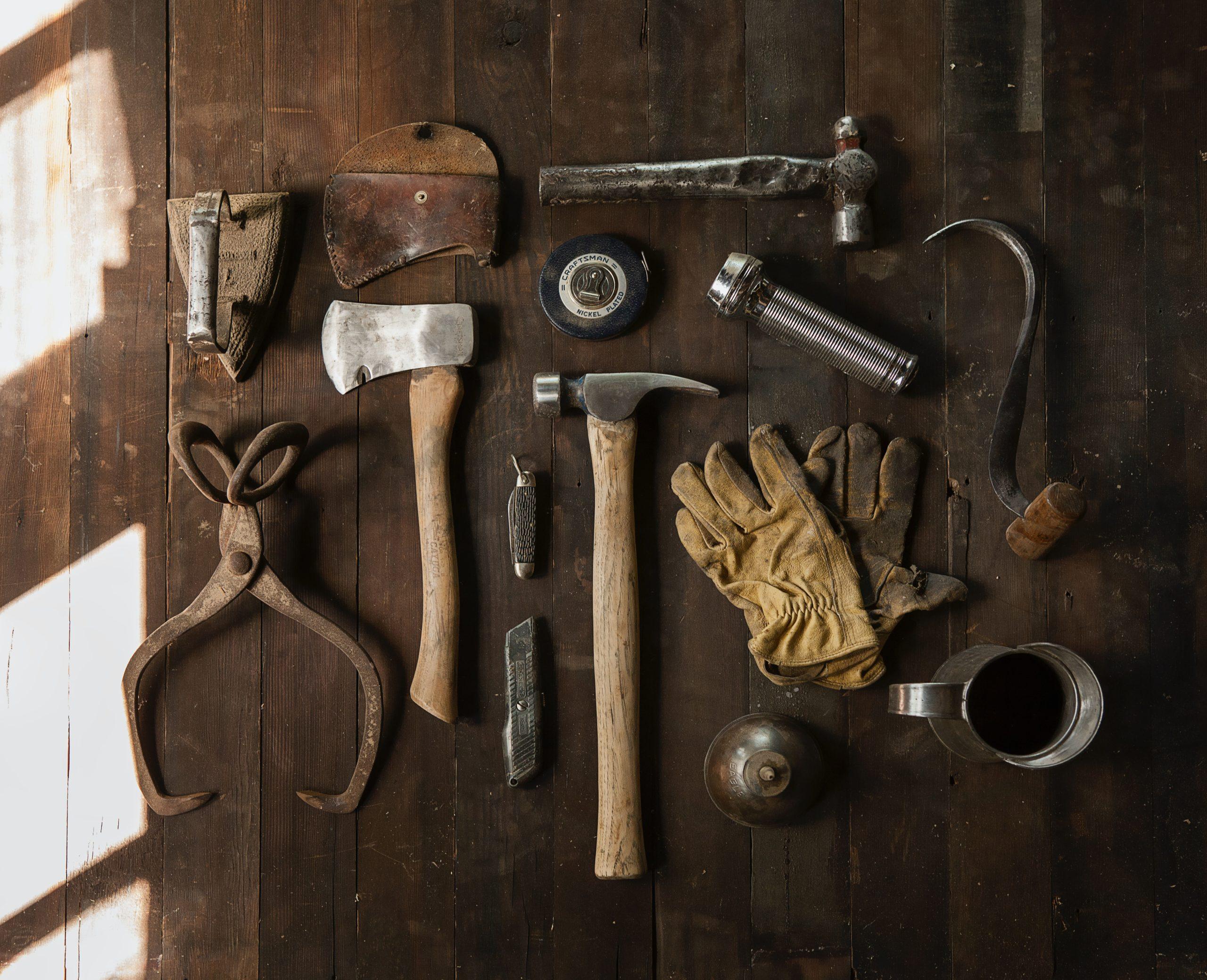 Werkzeug für ein Projekt